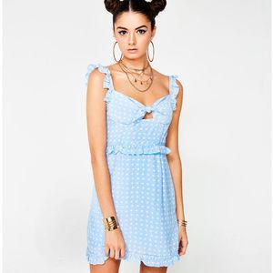 """For Love & Lemons """"Sweetheart"""" mini dress -- BNWT"""